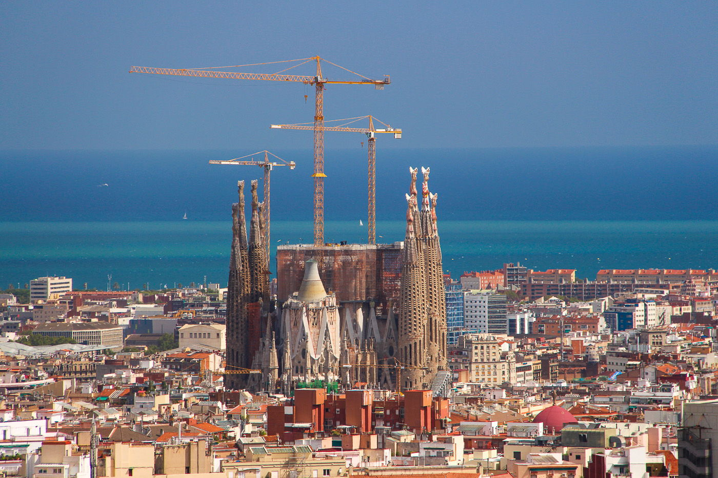 Centuries in the making - La Sagrada Familia